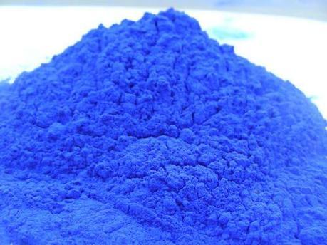 Железоокисный пигмент 8707 синего цвета, фото 2