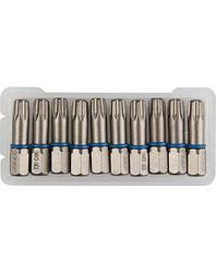 Биты для шуруповерта ЗУБР 26015-30-25-10, торсионная кованая, обточенная, хромомолибденовая сталь