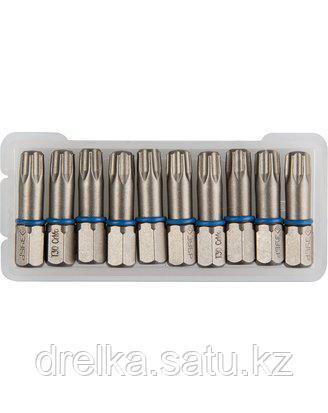 Биты для шуруповерта ЗУБР 26015-30-25-10, торсионная кованая, обточенная, хромомолибденовая сталь, фото 2