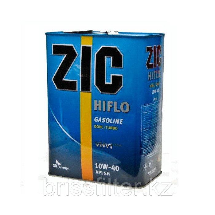Минеральное моторное масло ZIC Hiflo 10w40 SH 4л
