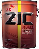 Минеральное моторное масло ZIC X3000 15w40 п\с 20л