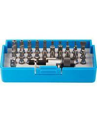 Набор бит для шуруповерта ЗУБР 26091-H32, биты из хромомолибденовой стали, 31 бита - 25 мм, адаптер