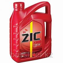 Минеральное моторное масло ZIC X3000 15w40 п\с 4л