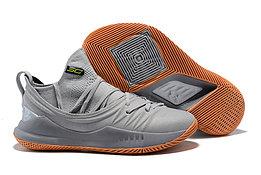 """Баскетбольные кроссовки Under Armour Curry V """"Grey/Gum"""" Low (40-46)"""