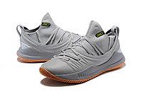 """Баскетбольные кроссовки Under Armour Curry V """"Grey/Gum"""" Low (40-46), фото 2"""