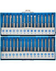 Набор бит для шуруповерта ЗУБР 26092-H30, биты со специальными профилями, обточенные, хромомолибденовая сталь