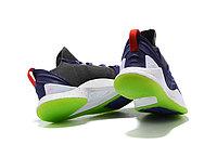 "Баскетбольные кроссовки Under Armour Curry V ""Navy/White/Volt"" Low (40-46), фото 3"