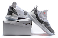 "Баскетбольные кроссовки Under Armour Curry V ""White/Grey"" Low (40-46), фото 6"