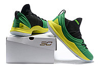 """Баскетбольные кроссовки Under Armour Curry V """"Brasil"""" Low (40-46), фото 6"""