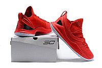 """Баскетбольные кроссовки Under Armour Curry V """"University Red"""" Low (40-46), фото 6"""