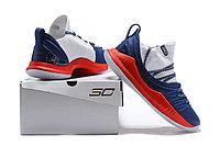"""Баскетбольные кроссовки Under Armour Curry V """"USA"""" Low (40-46), фото 6"""
