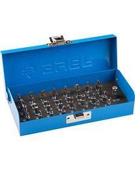 Набор бит для шуруповерта ЗУБР 26092-H33, биты с магнитным адаптером и переходником, хромомолибденовая сталь