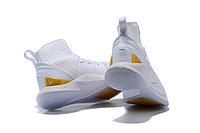 "Баскетбольные кроссовки Under Armour Curry V ""White/Gold"" Mid (40-46), фото 5"