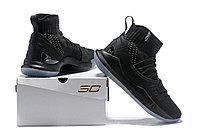 """Баскетбольные кроссовки Under Armour Curry V """"Black/Ice"""" Mid (40-46), фото 6"""