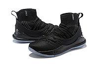 """Баскетбольные кроссовки Under Armour Curry V """"Black/Ice"""" Mid (40-46), фото 2"""