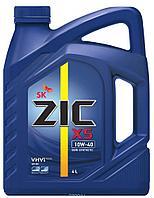 Моторное полусинтетическое масло ZIC X5 10w40 6л