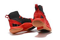 """Баскетбольные кроссовки Under Armour Curry V """"Black/Red/Gum"""" Mid (40-46), фото 5"""