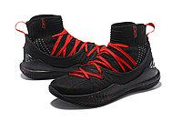 """Баскетбольные кроссовки Under Armour Curry V """"Black/Red"""" Mid (40-46), фото 2"""