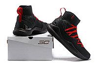 """Баскетбольные кроссовки Under Armour Curry V """"Black/Red"""" Mid (40-46), фото 6"""