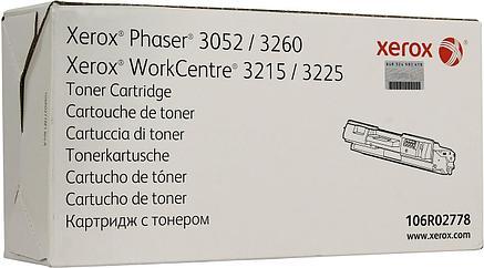 Тонер-картридж Черный для Xerox Phaser 3052, 3260DNI, Xerox WorkCentre 3225DNI, 3215NI Оригинал, фото 2