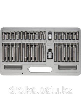 Набор бит для шуруповерта ЗУБР 2653-H40_z01, биты специальные в металлическом боксе, 40 предметов , фото 2