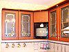 Витраж в кухонный фасад, F-3
