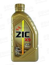 Синтетическое моторное масло ZIC X9 (XQ) 5w40 1л
