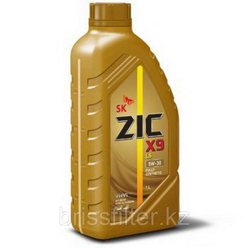 Синтетическое моторное масло ZIC X9 5w30 1л