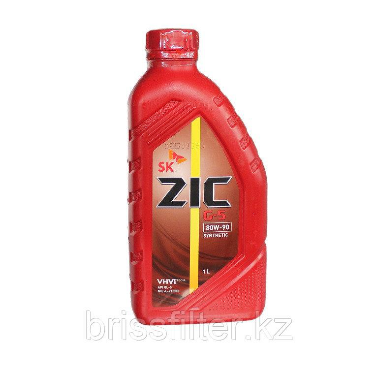 Трансмиссионное масло ZIC G-5 80w90 1л