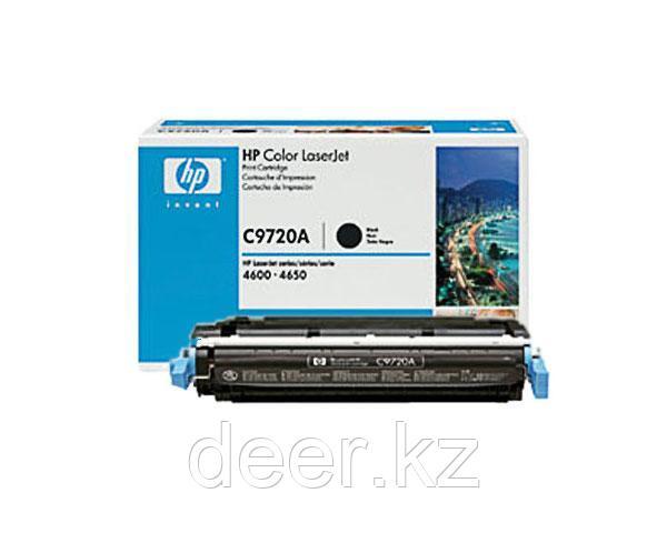 Картридж лазерный HP C9720A, Черный, на 9000 страниц (5% заполнение) для HP Color LaserJet 4600,