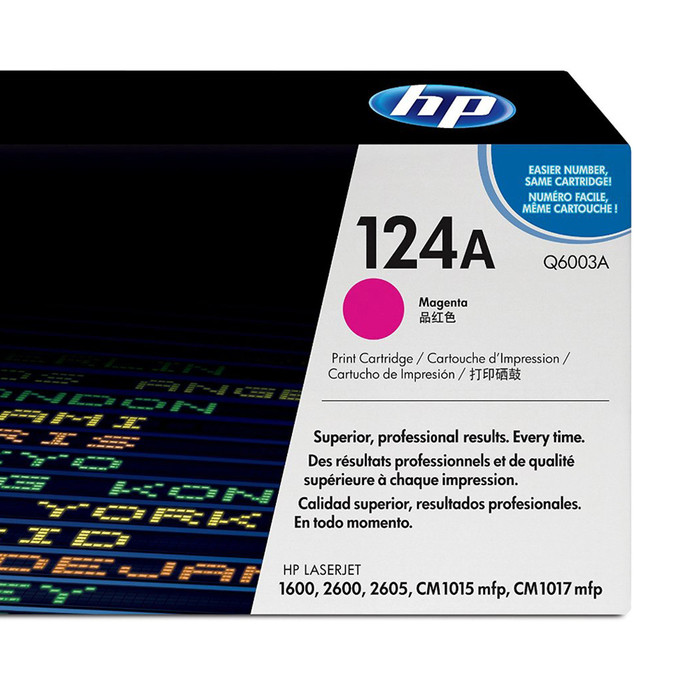Картридж лазерный HP Q6003A Розовый На 2000 страниц (5% заполнение) для HP LaserJet 1600/2600n/2605