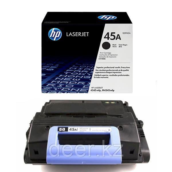 Картридж лазерный HP Q5945A, черный, На 18000 страниц для НР LaserJet 4345
