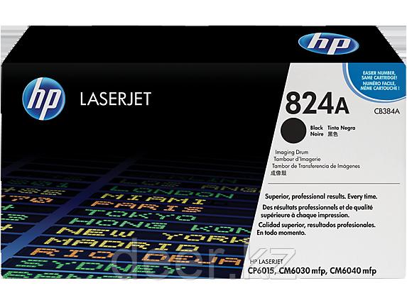 Картридж лазерный HP 824A, для LaserJet, Черный(CB384A) на 35000 страниц для HP CM6030, HP CM6030f