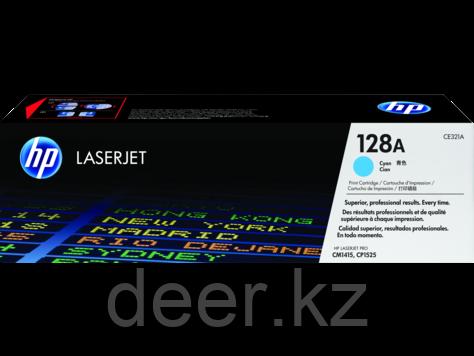 Картридж лазерный HP CE321A, Голубой, 1300 Color LJ Pro CP1525/CM1415