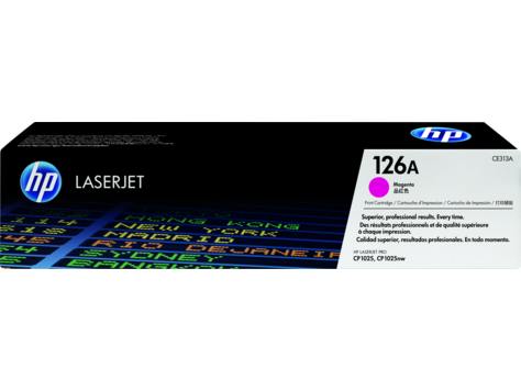 Картридж лазерный HP CE313A, Пурпурный, 1000 страниц для Color LaserJet CP1025