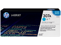 Картридж лазерный HP CE741A Cyan Print Cartridge for HP LaserJet CP5225, up to 7300