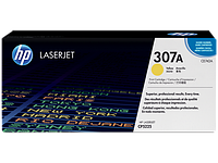 Картридж лазерный HP CE742A Yellow Print Cartridge for HP LaserJet CP5225, up to 7300