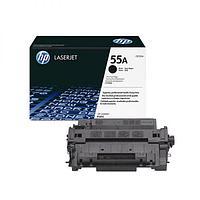 Картридж лазерный HP CE255A черный, для Laser Jet P3015/P3011, 6000 страниц