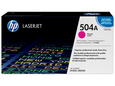 Картридж лазерный HP CE253A Пурпурный, для Color LaserJet CM3530/fs/CP3525dn/n/x, 7000 страниц