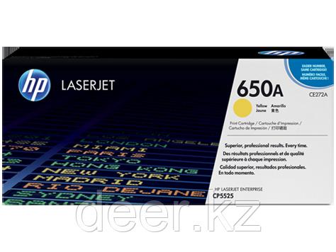 Картридж лазерный HP LaserJet CE272A Yellow Print Cartridge for Color LaserJet CP5525