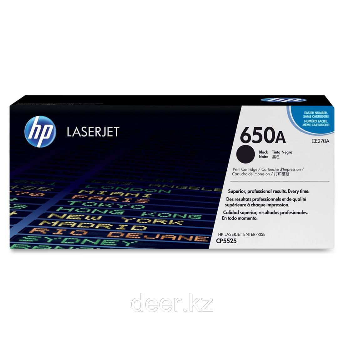 Картридж лазерный HP LaserJet CE270A Black Print Cartridge for Color LaserJet CP5525