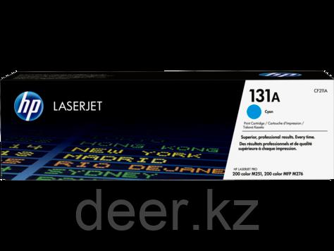 Картридж лазерный HP CF211A 131A Cyan LaserJet Toner, на 1800 страниц (5% заполнения)
