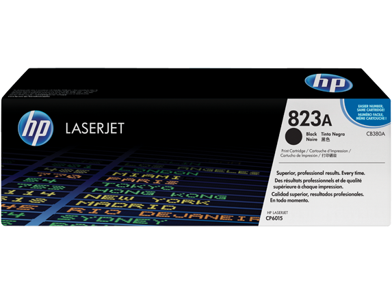 Картридж лазерный HP CB380A Black