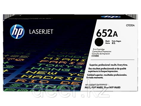 Картридж HP CF320A, 652A, для принтеров HP ColorLaserJet, черный