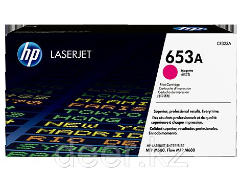 Картридж лазерный HP LaserJet 653A CF323A, Пурпурный, Совместимость МФУ HP Color LaserJet Enterprise M680