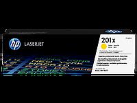 Картридж лазерный HP CF402X, 201X, для LJ Pro M252dw, M252n, M274n, M277dw, M277n, 2300 страниц, желтый