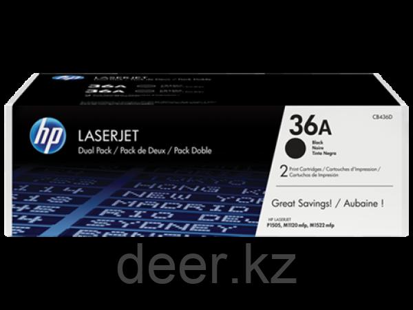 Картридж лазерный HP CB436AF_S, черный, двойная упаковка, на 2x2000 страниц для HP LaserJet P1505