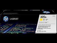 Картридж лазерный HP CE412A_S, 305A, 300/300mlp, 400/400mlp, 2600 стр, желтый
