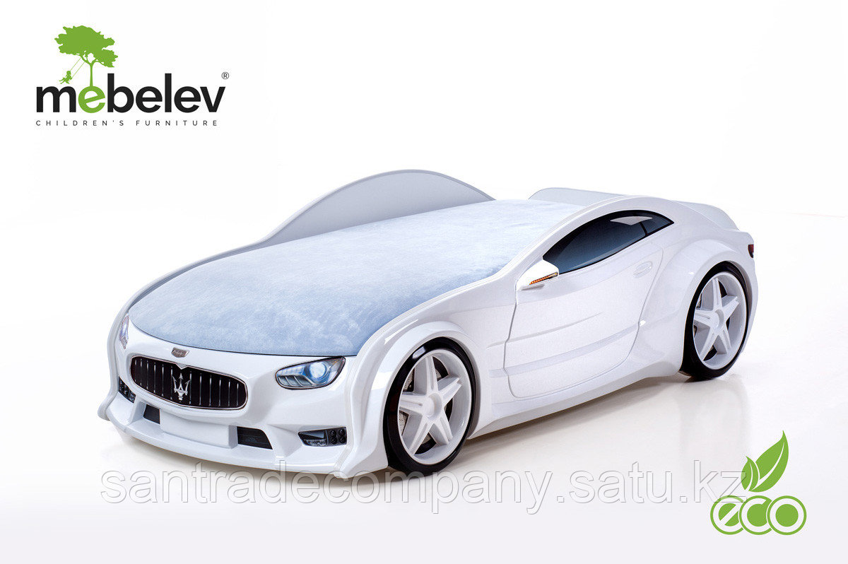 3D кровать-машина Мазератти NEO  для детей до 12 лет
