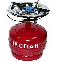 Газовый баллон 5 литров с горелкой